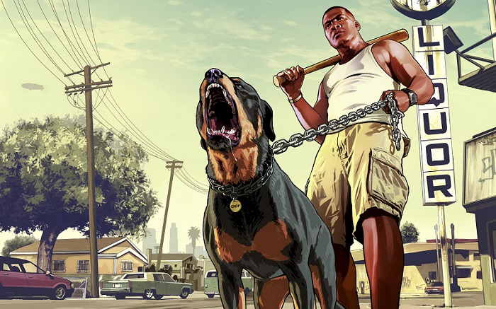 gta-V-franklins-dog